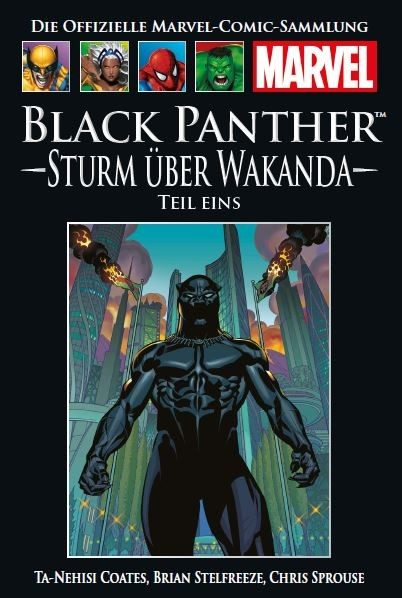 Hachette Marvel Collection 169 - Black Panther - Sturm über Wakanda, Teil I Cover
