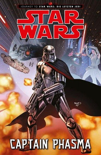Star Wars - Captain Phasma (Journey To Star Wars - Die Letzten Jedi) Cover