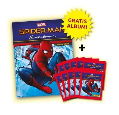 Spider-Man Homecoming Stickerkollektion - Bundle 2