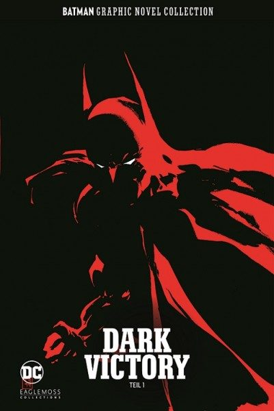 Batman Graphic Novel Collection 21 - Dark Victory, Teil 1 Cover