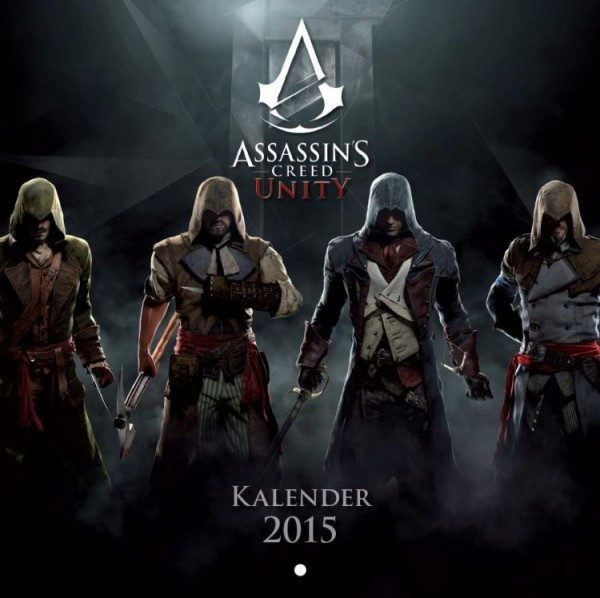 Assassin's Creed - Wandkalender (2015)