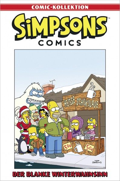 Simpsons Comic-Kollektion 47: Der blanke Winterwahnsinn Cover