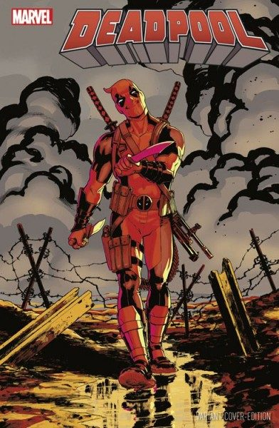 Deadpool 13 (2016) Comic Con Germany Variant