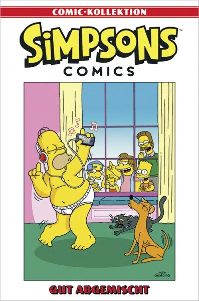 Simpsons Comic-Kollektion 45: Gut abgemischt Cover