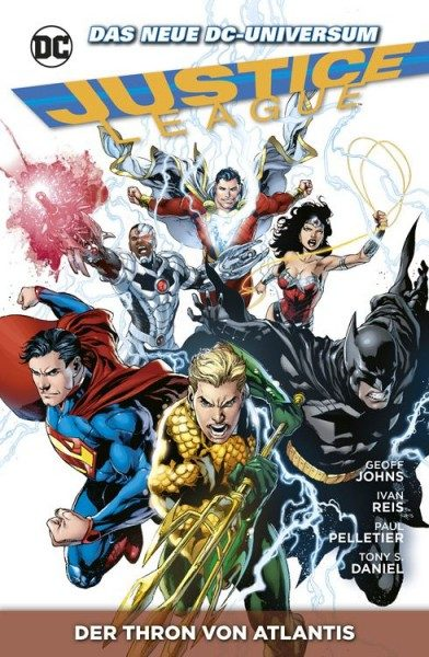 Justice League Paperback 3 (2013) - Der Thron von Atlantis