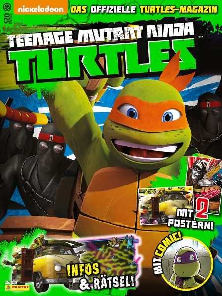 Teenage Mutant Ninja Turtles - Magazin 25