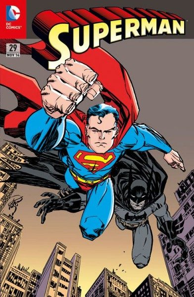 Superman 29 Comic Action 2014 Variant (75 Jahre Batman)