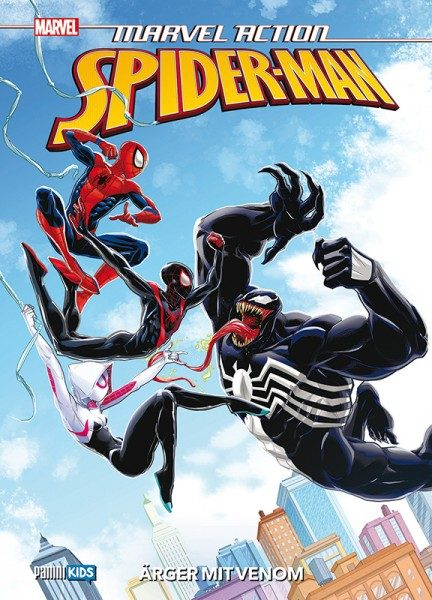 Marvel Action- Spider-Man 4 - Ärger mit Venom Cover