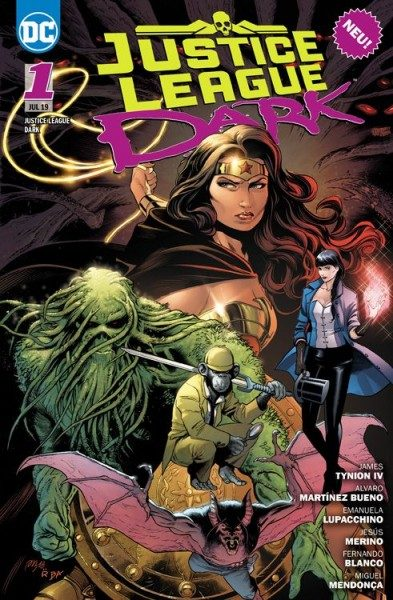 Justice League Dark 1 - Hexenstunde