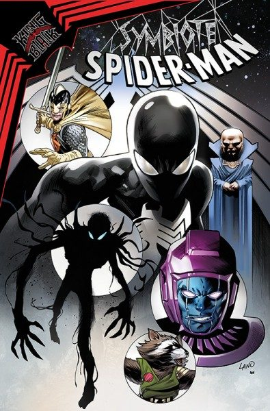 Symbiote Spider-Man 3 - King in Black Cover