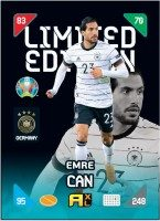 UEFA EURO 2020™ Adrenalyn XL™ 2021 Kick Off – LE Card – Emre Can (Deutschland)