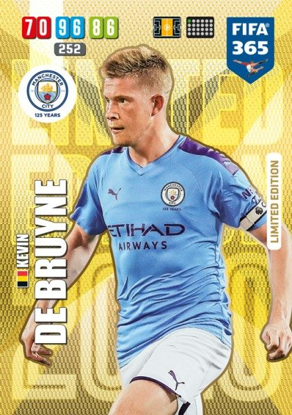 Panini FIFA 365 Adrenalyn XL 2020 Kollektion – LE-Card Kevin de Bruyne