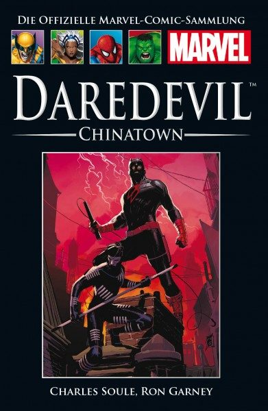 Hachette Marvel Collection 183 - Daredevil - Chinatown Cover