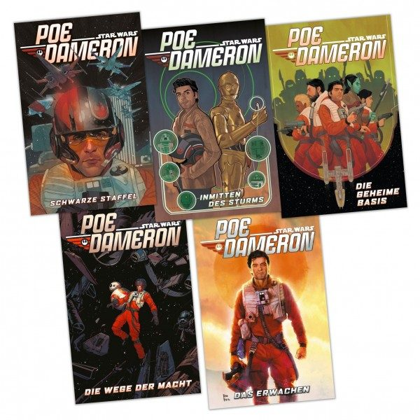 Star Wars Comics - Poe Dameron Bundle