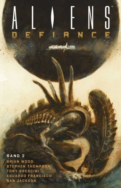 Aliens: Defiance 2 Cover