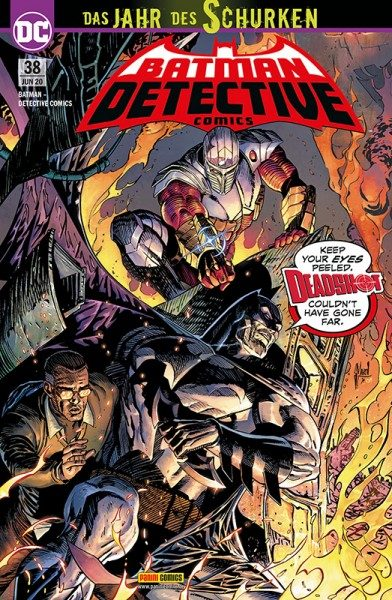 Batman: Detective Comics 38 Cover