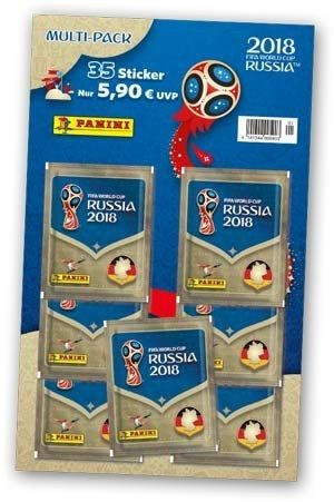 2018 FIFA World Cup Russia Stickerkollektion – Multipack