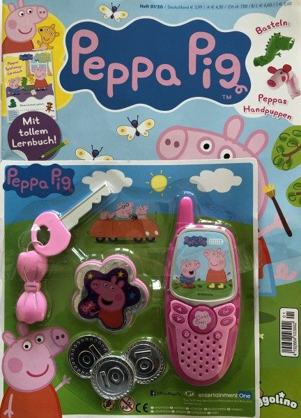 Peppa Pig Magazin 01/20 Cover