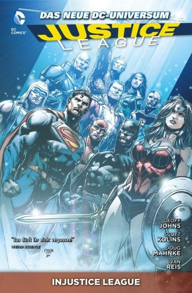 Justice League Paperback 8 (2013) - Injustice League