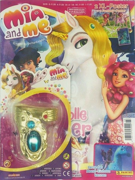 Mia and Me Magazin 03/20 Cover mit Extra Packshot