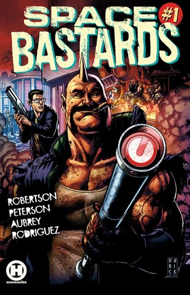 Space Bastards 1 Cover