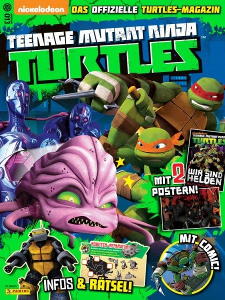 Teenage Mutant Ninja Turtles - Magazin 13