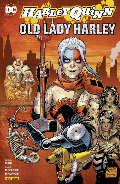 Old Lady Harley Cover