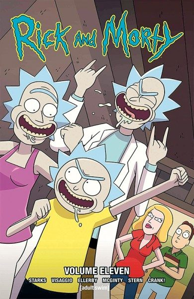 Rick and Morty 11 Cover