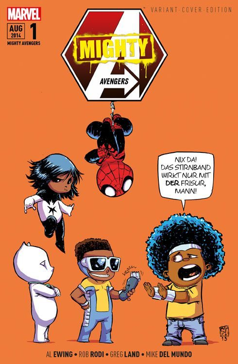 Mighty Avengers 1 Variant