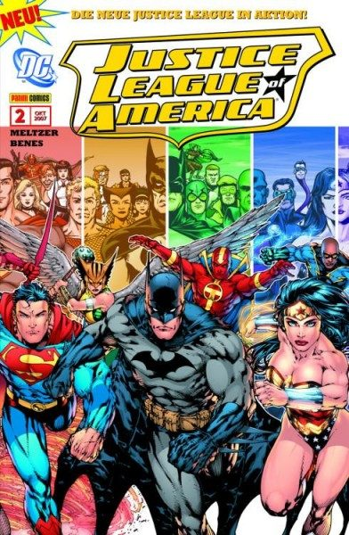 Justice League of America 2 (2007) - Der Pfad des Tornado