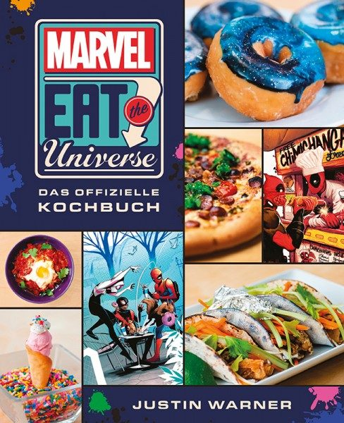 Eat the Universe - Das Marvel Kochbuch Cover