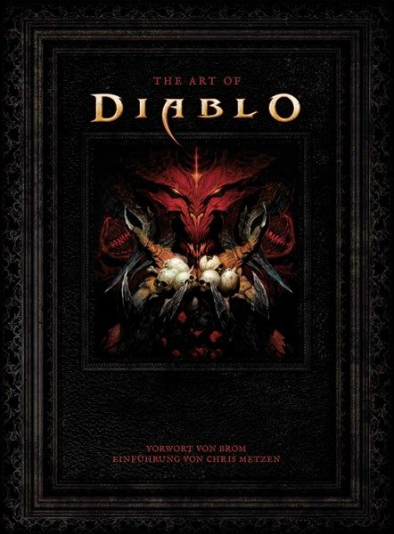 The Art of Diablo Cover