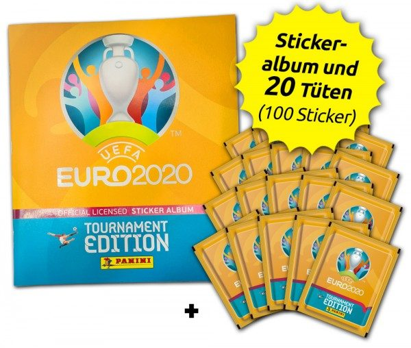 UEFA EURO 2020™ Tournament Edition - Offizielle Stickerkollektion - Starter-Bundle
