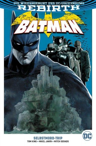 Batman Paperback 2: Selbstmord-Trip Cover