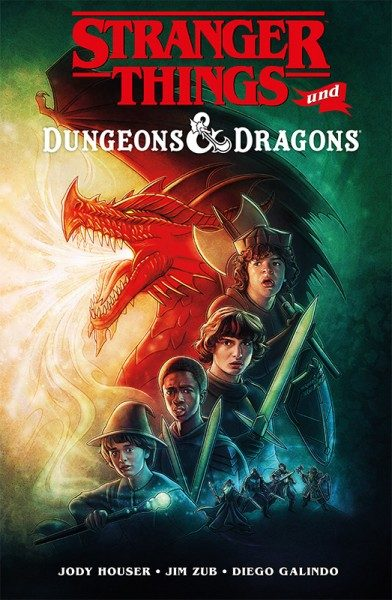 Stranger Things und Dungeons & Dragons Cover