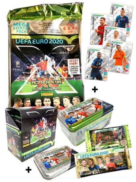 Road To UEFA Euro 2020 Adrenalyn XL – Collector's-Bundle