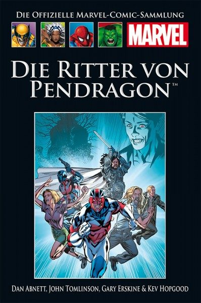 Hachette Marvel Collection 212 - Die Ritter von Pendragon Cover