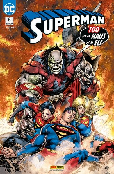 Superman 6 Cover