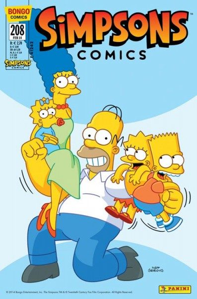 Simpsons Comics 208
