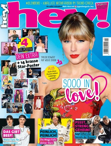 hey! Magazin 05/20 Cover Taylor Swift