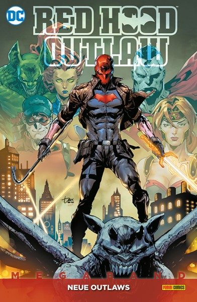 Red Hood - Outlaw Megaband 2 - Neue Outlaws Cover