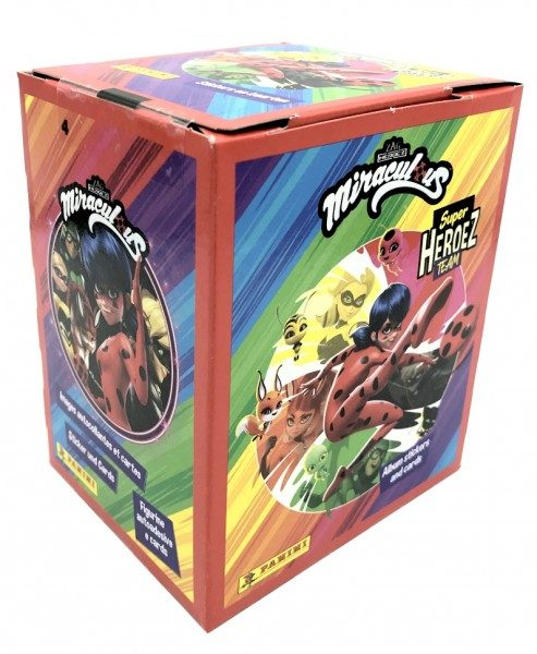 Miraculous Super Heroez Team - Sticker & Cards - Box