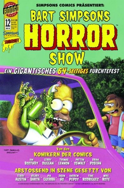 Bart Simpsons Horror Show 12