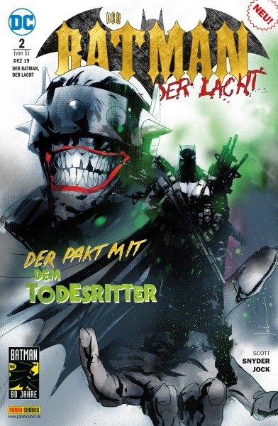 Der Batman, der lacht 2 Cover