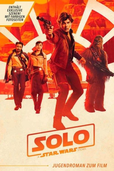 Solo: A Star Wars Story - Jugendroman zum Film Cover