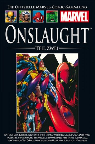 Hachette Marvel Collection 194 Onslaught, Teil 2 Cover