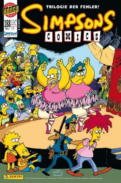 Simpsons Comics 188