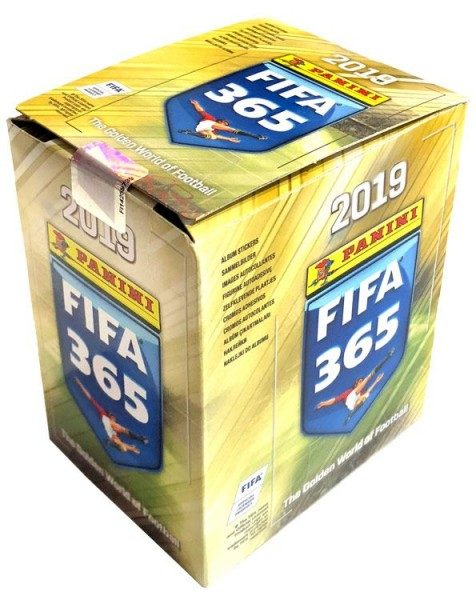 Panini FIFA 365 2019 Stickerkollektion – Box