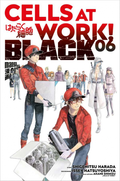 Cells at Work! Black 6 Cover