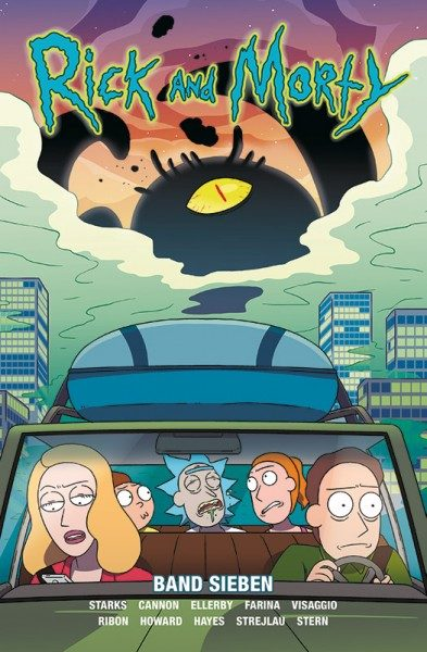 Rick and Morty 7 Cover